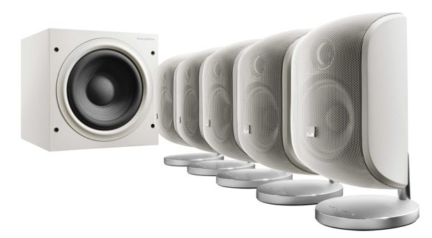 B&W MT-50 Home Cinema Pack (white)