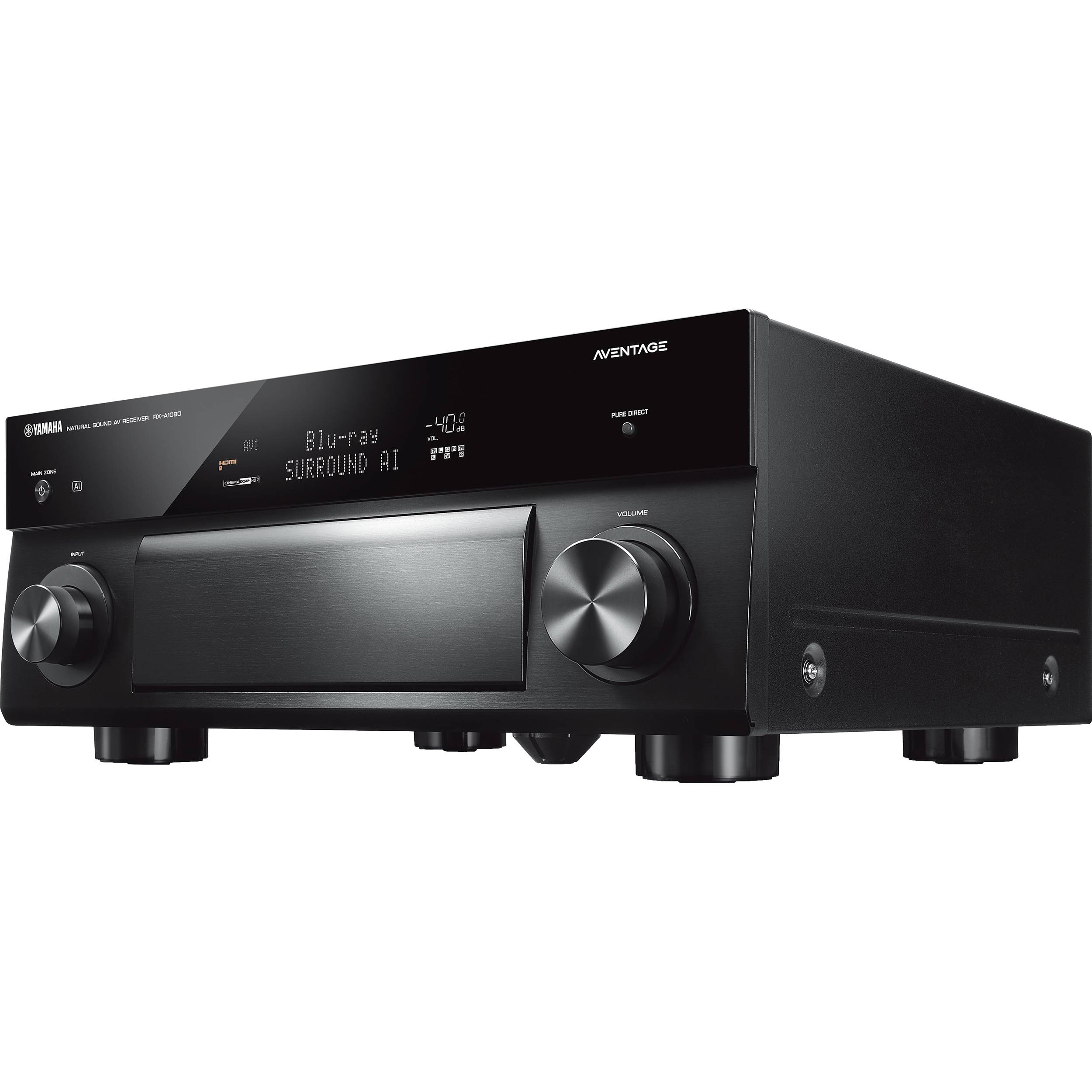 yamaha aventage rx a 1080 7 2 av receiver. Black Bedroom Furniture Sets. Home Design Ideas