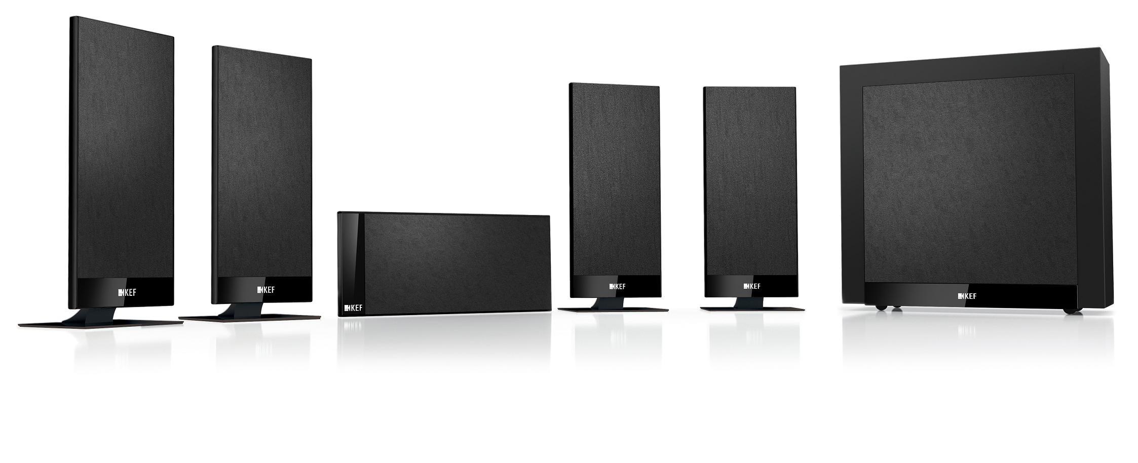 Kef T105 5.1 Speaker Pack