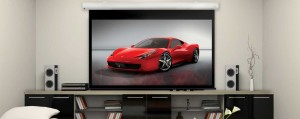 SI Series 1 Electric Projector Screen 16:9